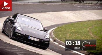 Porsche Panamera Turbo: sedan hạng sang nhanh nhất trên trái đất !