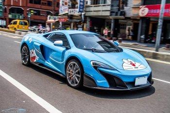 """McLaren 675LT ngộ nghĩnh với """"dàn áo"""" Doraemon"""