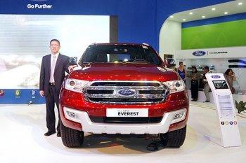 Thân xe Ford Everest có bí mật giúp tiết kiệm nhiên liệu