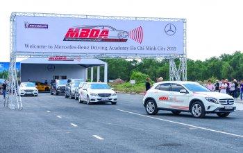 Mercedes-Benz Việt Nam mời thử tay lái tại đường đua HappyLand Long An