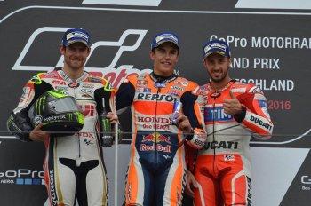Thay lốp đúng đắn, Marquez vô địch chặng 9 MotoGP 2016