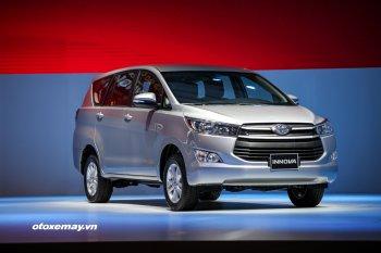 Chi tiết 3 phiên bản Toyota Innova 2016 vừa ra mắt tại Việt Nam