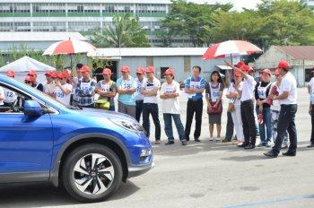 Những bài tập lái xe an toàn của Honda Việt Nam