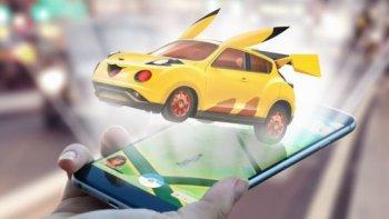 Pokemon hóa thân thành xe hơi