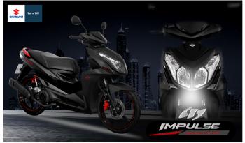 Suzuki thêm màu mới cho Impulse để tăng tính cạnh tranh