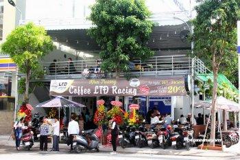 Thêm điểm hẹn cà phê cho tín đồ Exciter tại Sài thành