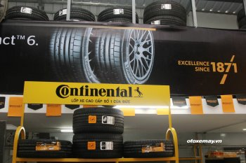 Khai trương cửa hàng lốp xe sang Continental chuẩn châu Âu đầu tiên tại Việt Nam