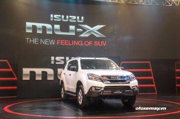 Isuzu mu-X hoàn toàn mới được bán với giá từ 899 triệu đồng