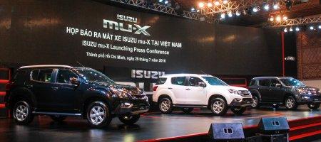 Chi tiết mẫu SUV mu-X được kỳ vọng đem lại hình ảnh mới cho Isuzu