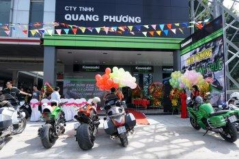 Khai trương showroom mô tô PKL Kawasaki Long An