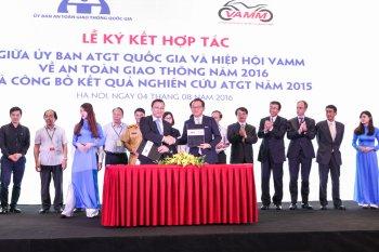 VAMM tham gia xây dựng giao thông Việt Nam an toàn