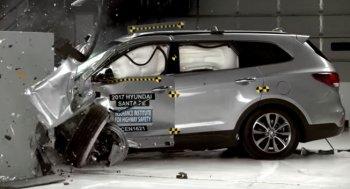 Hyundai Santa Fe 2017 đạt chuẩn an toàn cao nhất