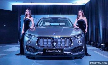 Maserati Levante ra mắt tại Malaysia và âm thầm về Việt Nam