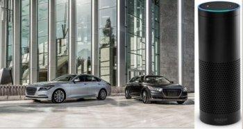 Xe Hyundai Genesis có thể điều khiển bằng giọng nói