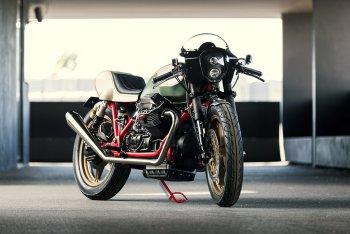 Phá cách cùng bản độ Moto Guzzi Mille GT bởi xưởng độ Redonda Motors