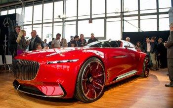 Vision Mercedes-Maybach 6 Concept: tầm nhìn mới của xe hạng sang
