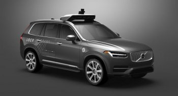 Uber bắt tay Volvo, tham vọng dẫn đầu cuộc đua xe tự lái