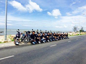Biker Sài Gòn lập nhóm chuyên nghiệp cứu hộ dân phượt