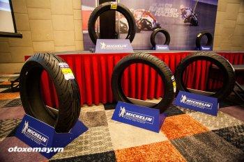 Michelin ra mắt 3 dòng sản phẩm lốp chuyên dụng cho mô tô