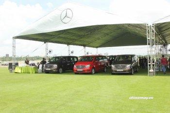 Ngày 27 và 28/8, Mercedes tổ chức ngày hội xe MPV tại TP.HCM