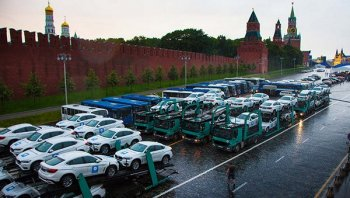 Nga tặng ngập Quảng trường Đỏ xe BMW cho VĐV Olympic