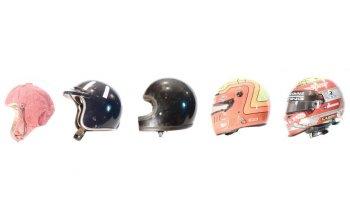 Quá trình tiến hóa của mũ bảo hiểm trong đua xe