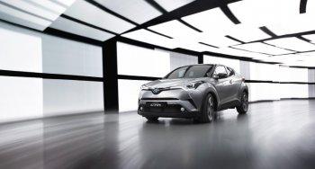 Toyota C-HR: gọn gàng mà mạnh mẽ