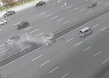 Xe Tổng thống Putin gặp tai nạn, tài xế thiệt mạng