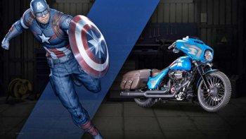 Harley-Davidson tung dàn xe phong cách siêu nhân Marvel