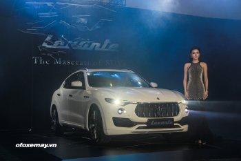 Levante – SUV đầu tiên của Maserati được bán với giá từ 4,99 tỷ đồng
