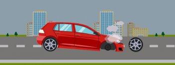 Làm gì để giữ an toàn khi xe nổ lốp?