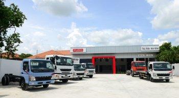 FUSO khai trương đại lý chuẩn quốc tế đầu tiên tại Việt Nam