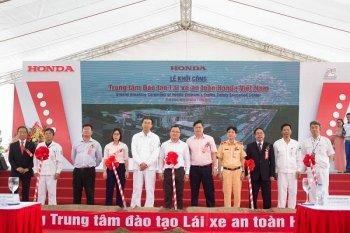 Honda Việt Nam xây dựng Trung tâm đào tạo lái xe an toàn