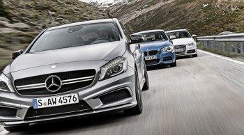 Mercedes dẫn đầu cuộc chiến xe sang