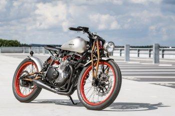 Phá cách với bản độ Suzuki GS550E của Wimoto