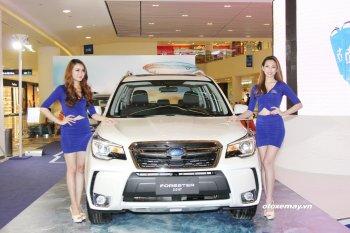 Subaru tổ chức trải nghiệm lái tại trường đua HappyLand