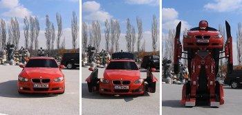 Nhân vật Transformers biến hình từ xe BMW
