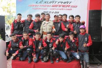 Honda Winner lên đường phượt 4 cực Việt Nam