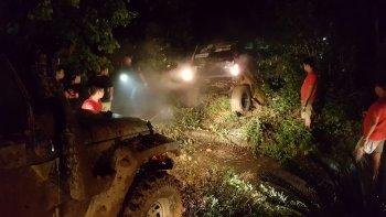 Chặng đua đêm trong rừng VOC 2016