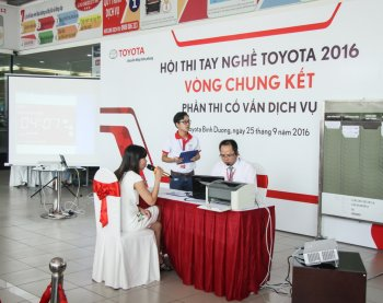 Toyota Việt Nam hướng đến sự hiếu khách trên toàn hệ thống