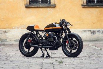 Ma thuật độ Moto Guzzi V65 của xưởng Ventus Garage