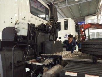 Namviet Motor chăm sóc xe tải Hyundai miễn phí