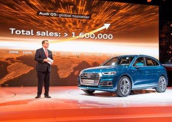 Audi chính thức công bố thế hệ thứ hai Q5 2017