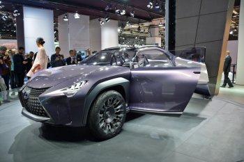 Lexus mang UX Concept tới Paris Motor Show