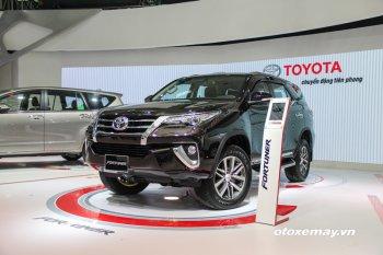 VMS 2016: Fortuner hút khách tại gian hàng Toyota