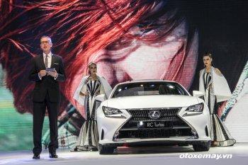"""VMS 2016: Lexus Việt Nam mang tới """"bộ sưu tập"""" Turbo"""