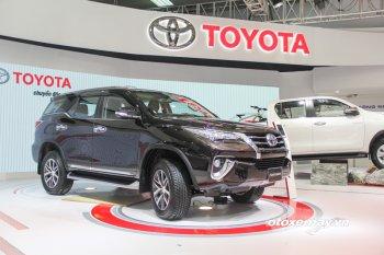 VMS 2016: Toyota Fortuner 2017 thay đổi toàn diện