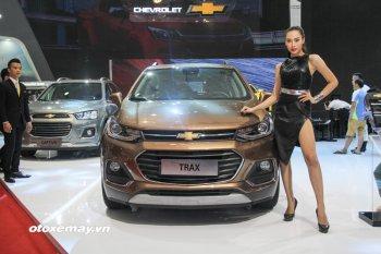 Chevrolet Trax 2017 ra mắt VMS đầy tiện nghi