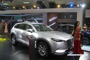 VMS 2016: Mazda Việt Nam khoe SUV cỡ bự CX-9