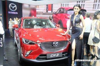 VMS 2016: Mazda sắp đưa SUV nhỏ CX-3 về Việt Nam